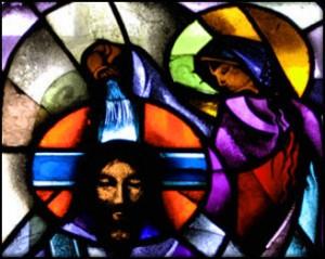 anointing Jesus